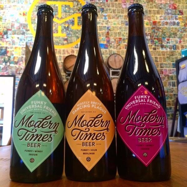 Modern Times Funky Bottles