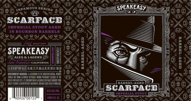 Speakeasy Barrel Aged Scarface