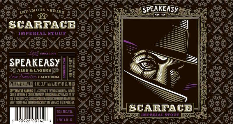 Speakeasy Scarface Imperial Stout