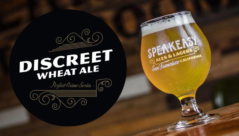 Speakeasy Ales & Lagers - Discreet Wheat Ale