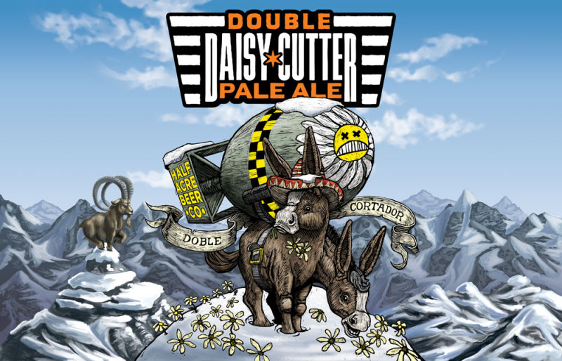 Half Acre Double Daisy Cutter