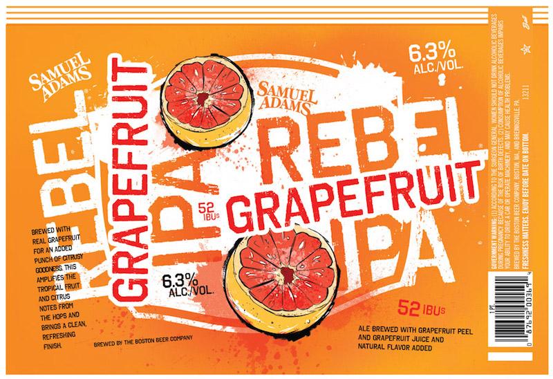 Samuel Adams Rebel Grapefruit IPA
