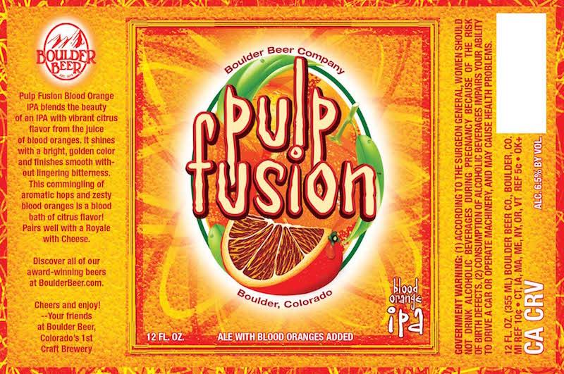 Boulder Pulp Fusion Blood Orange IPA