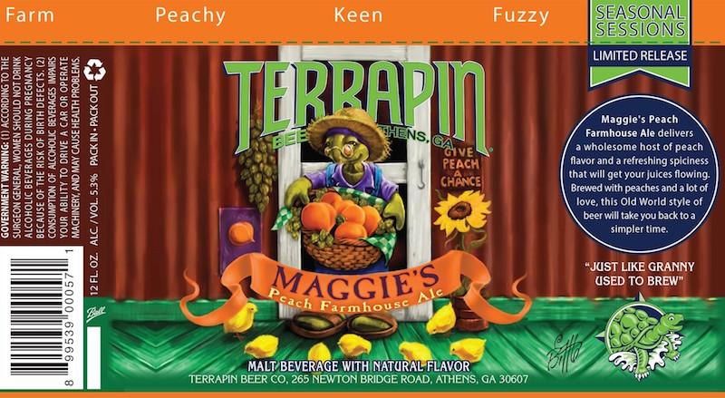 Terrapin Maggie's Peach Farmhouse