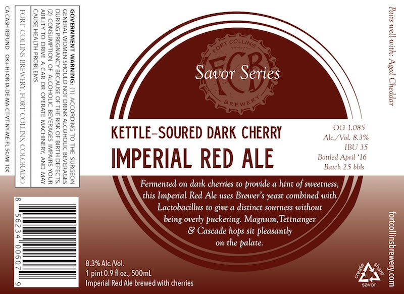 FCB Kettle-Soured Dark Cherry Imperial Red Ale
