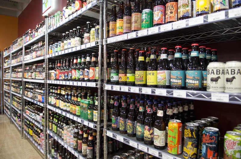 Shelf of Beer