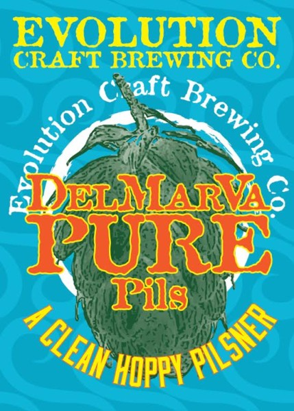 Evolution Craft Brewing DelMarVa Pure Pils