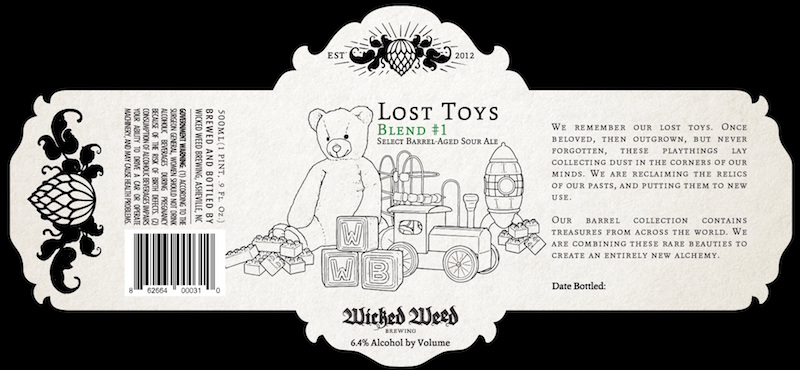 Wicked Weed Lost Toys Blend #1