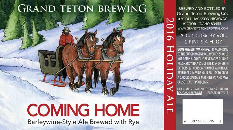 Grand Teton Coming Home 2016
