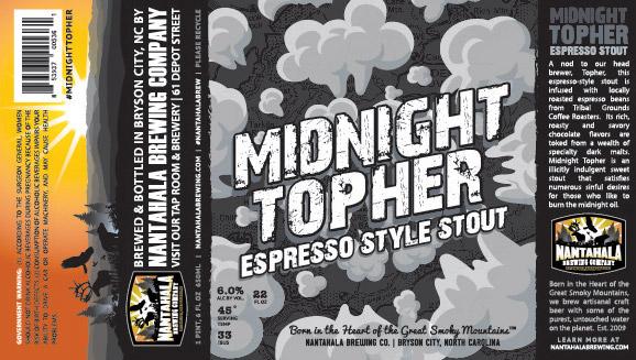 Nantahala Brewing Midnight Topher