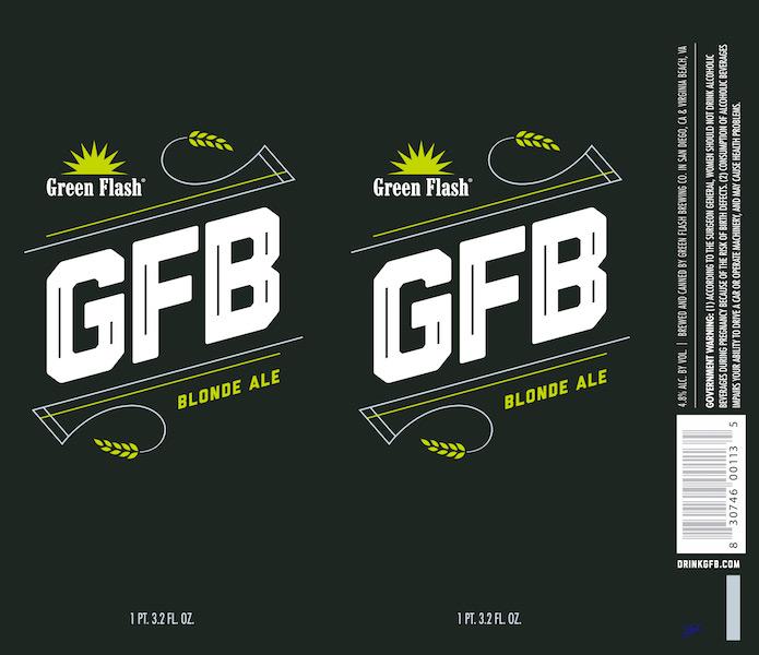 Green Flash GFB tall can