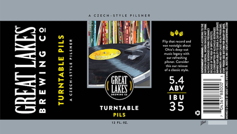 Great Lakes turntable pils can label