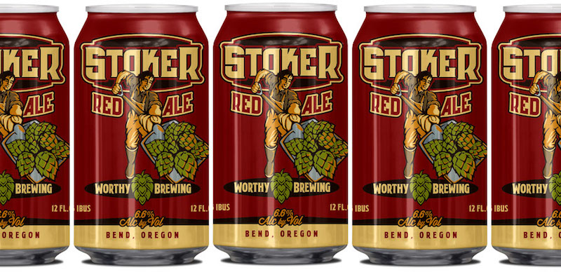Worthy Stoker Red Ale Cans
