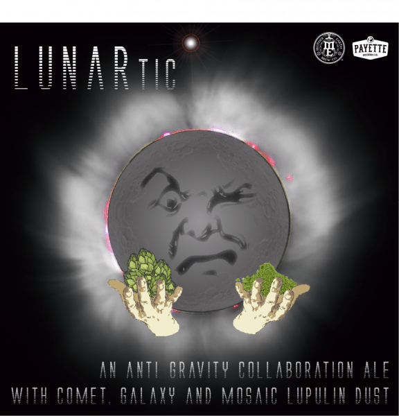 Payette Brewing & Mother Earth Brew Co. - Lunartic Collab Graphic