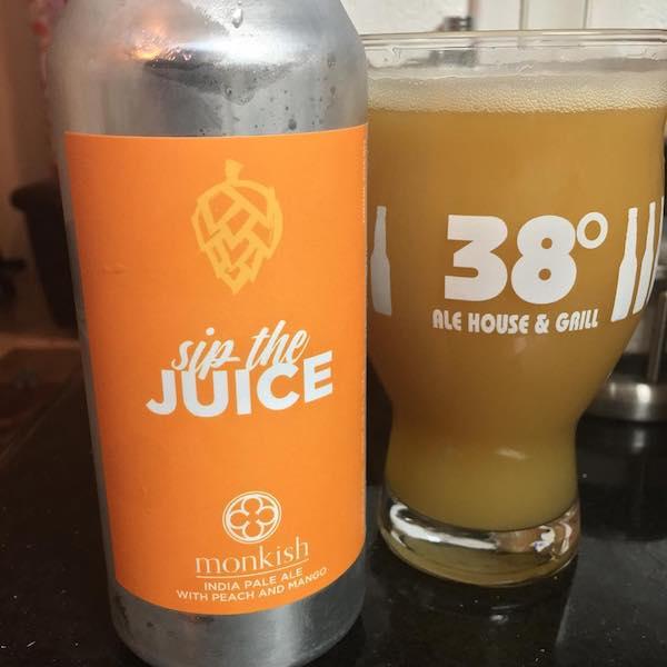 Monkish Sip the Juice