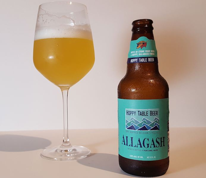 Reviewed Allagash Hoppy Table Beer
