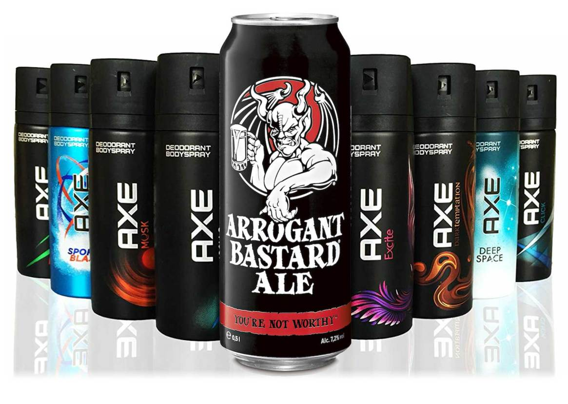 Axe Body Spray Arrogant Bastard