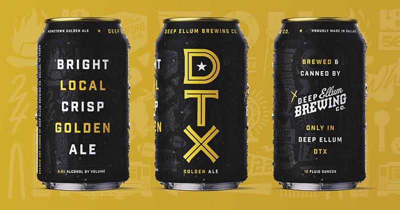 DTX Golden Ale Deep Ellum
