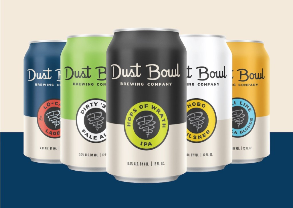 Dust Bowl Brewing Cans 2019