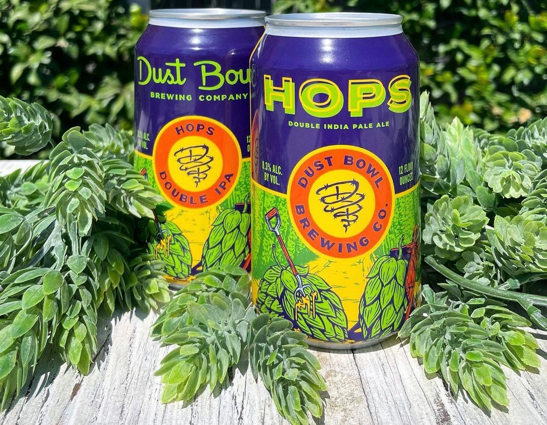 Dust Bowl Brewing Hops Double IPA