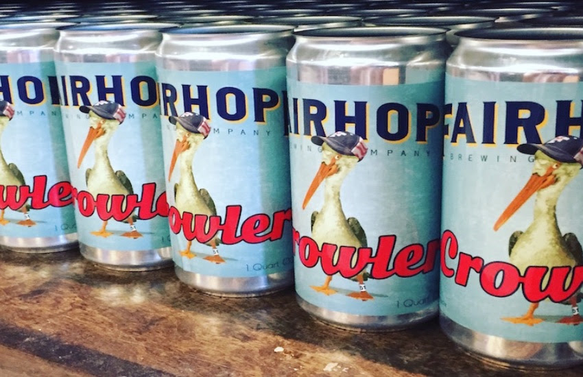 Fairhope Brewing Crowlers