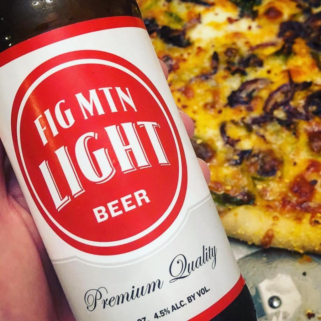 Fig Mtn Light Beer