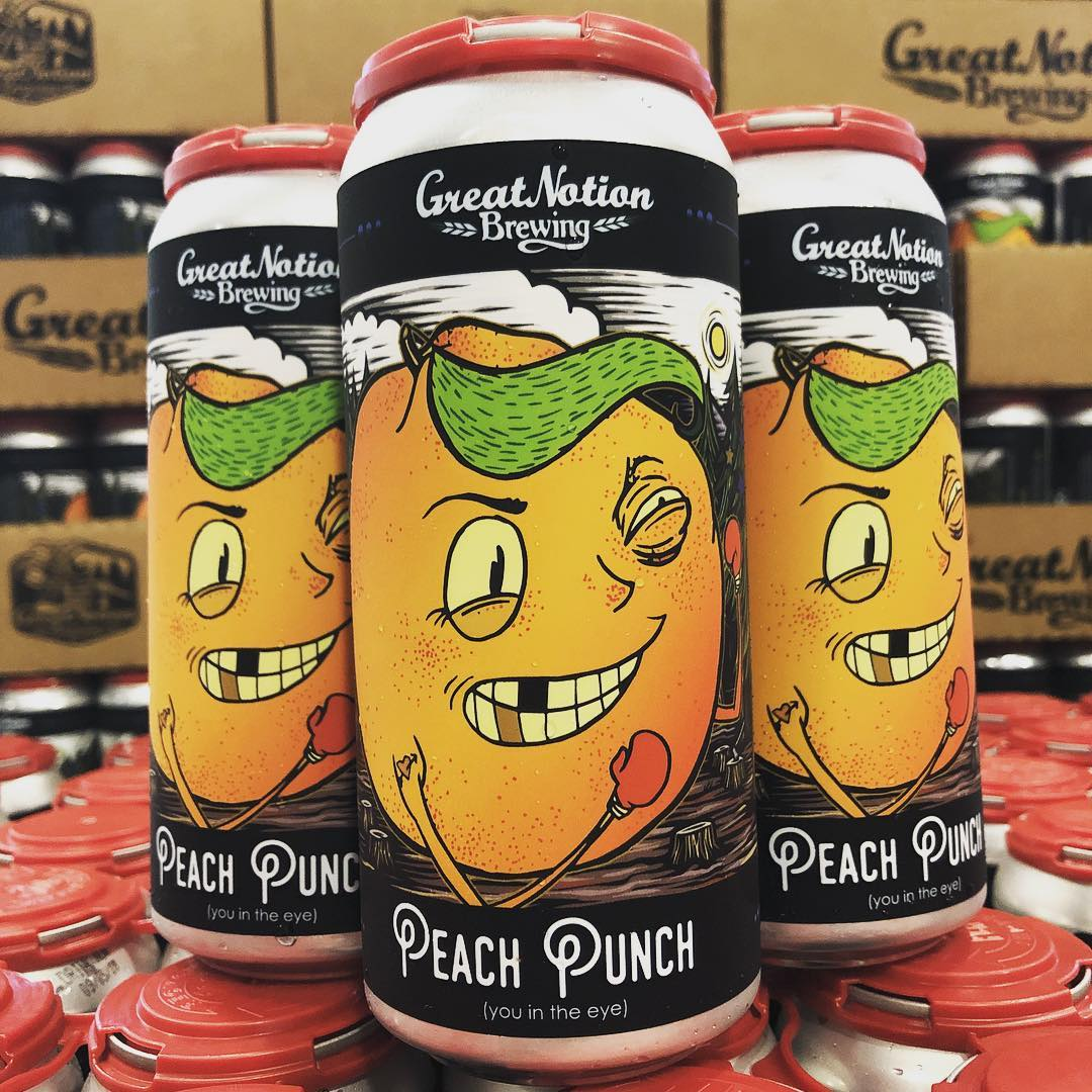 Great Notion Peach Punch Cans