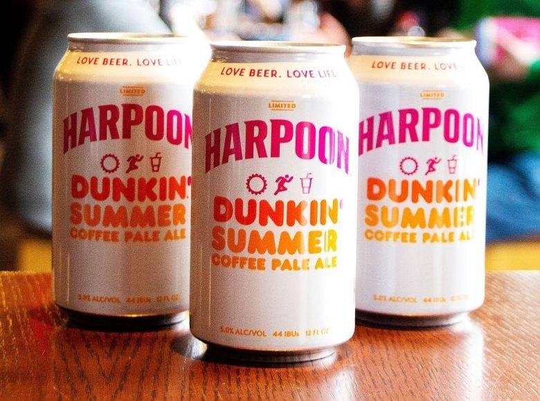 Harpoon Dunkin Summer Coffee Pale Ale