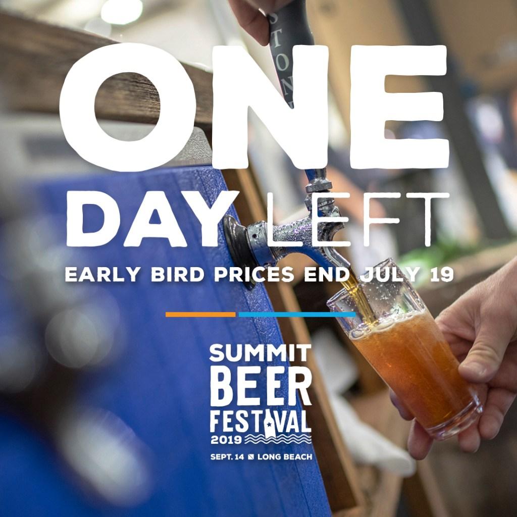 Summit Beer Festival - Early Bird Tickets