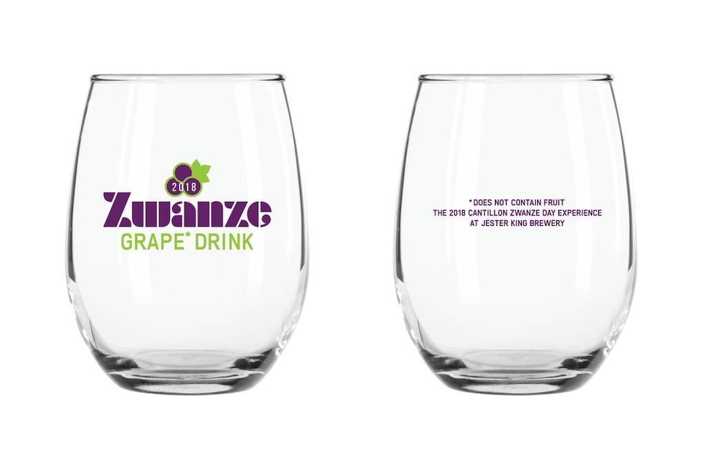 Jester King Zwanze Glassware