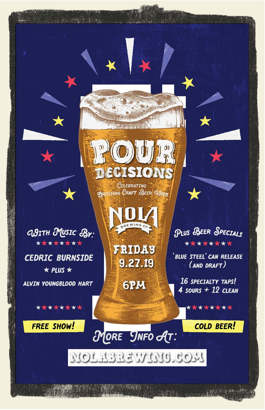 NOLA Brewing - Pour Decisions
