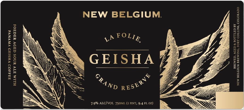 New Belgium La Folie Geisha