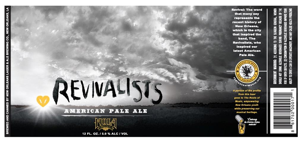 Nola Brewing - Revivalists American Pale Ale