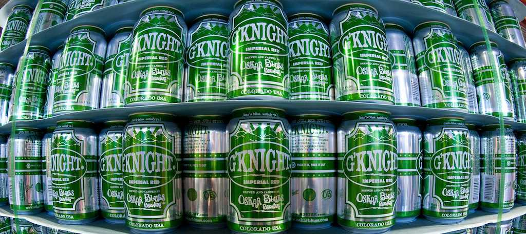Oskar Blues GKnight Cans