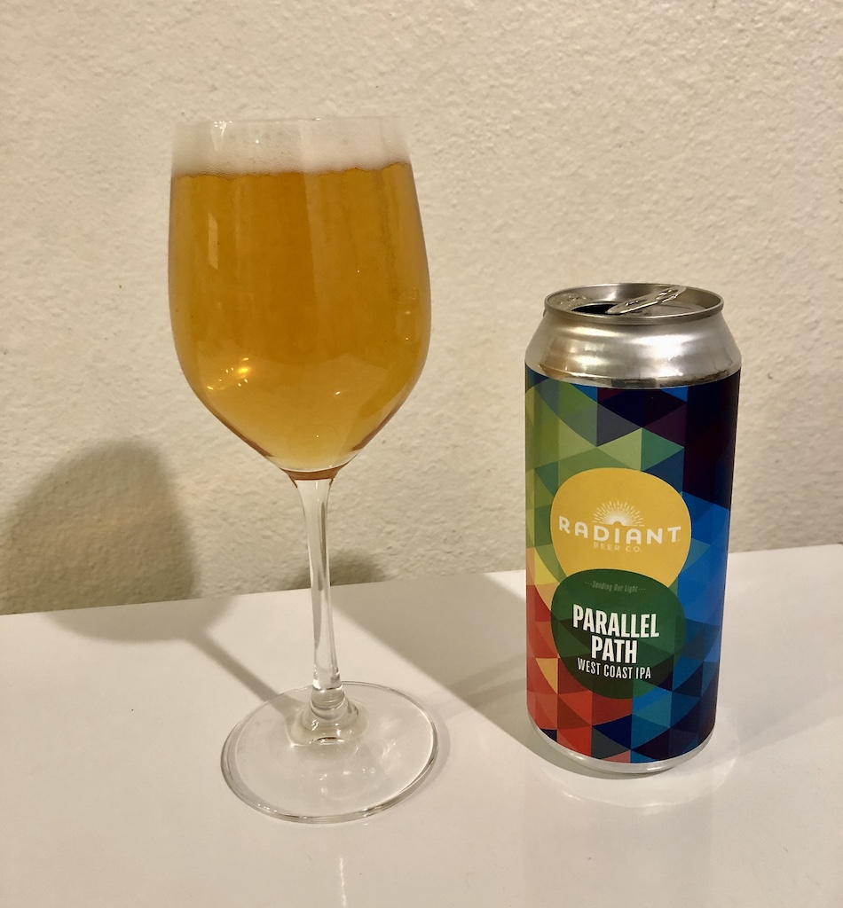 Radiant Beer Co Parallel Path West Coast IPA