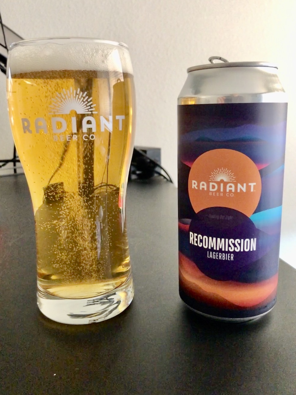 Radiant Beer Co Recommission Lager