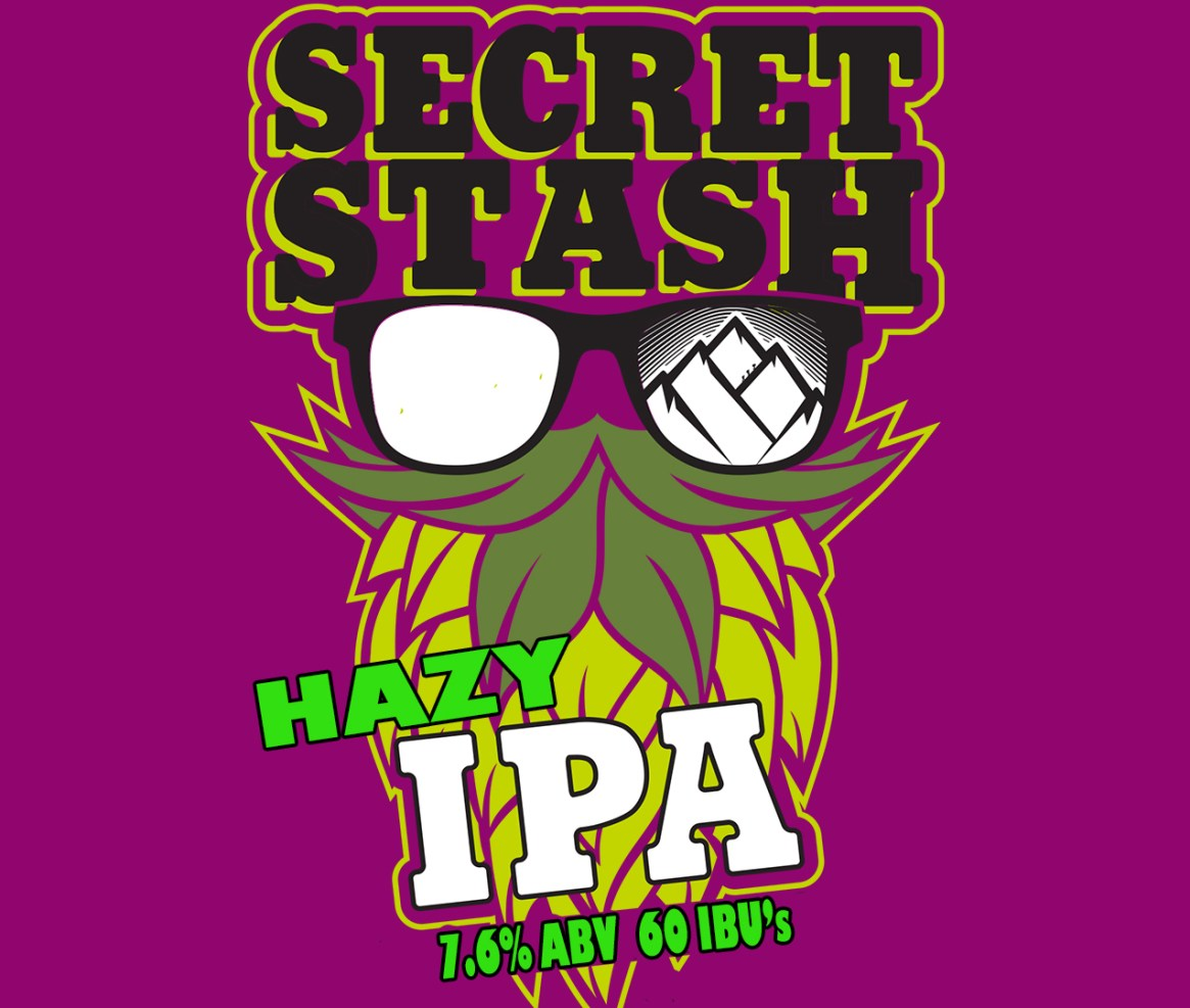 Secret Stash Hazy IPA
