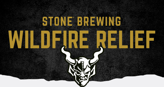Stone Brewing Wildfire Relief