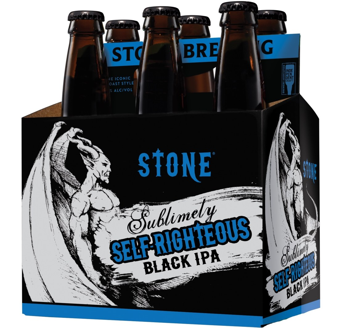 Stone Sublimely Self Righteous Black IPA 2020
