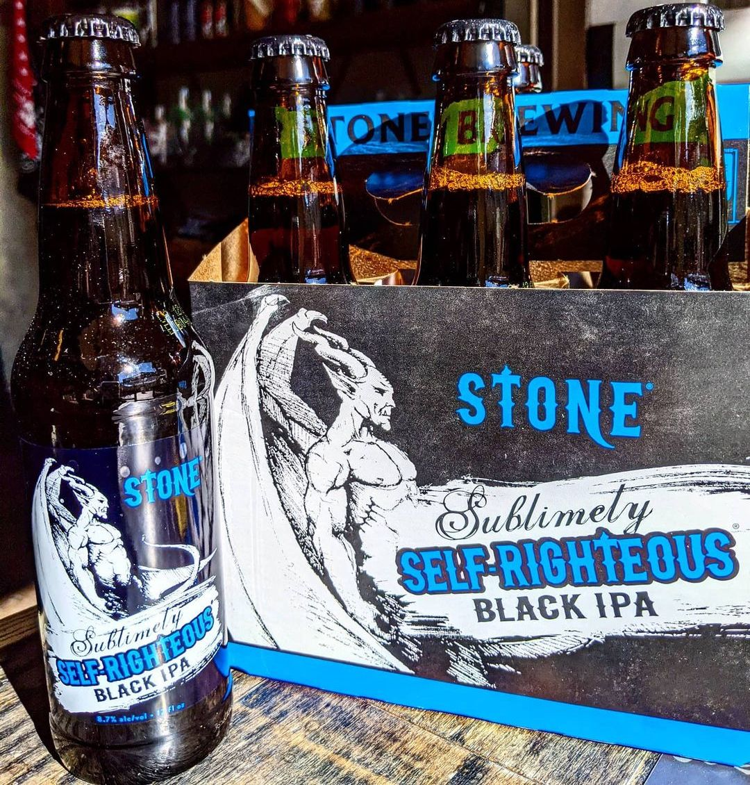 The Full Pint Podcast Black IPA Stone Sublimely Self Righteous Black IPA