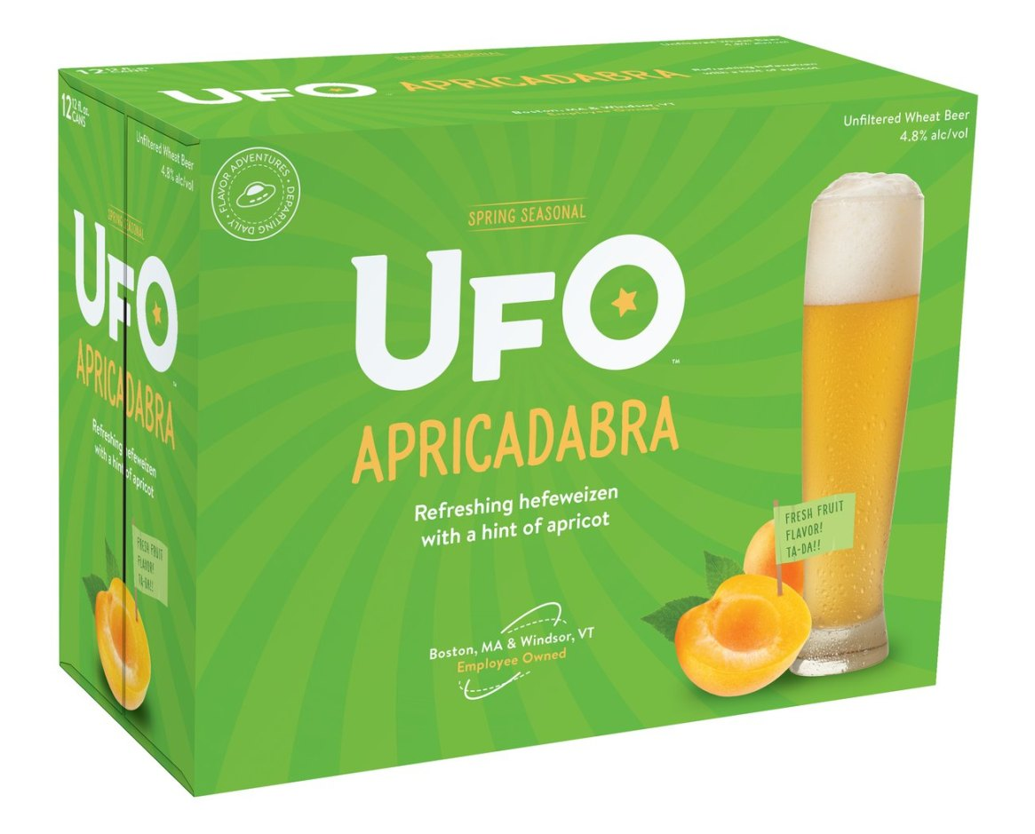 UFO - Apricadabra (Package-can-12-Pk)