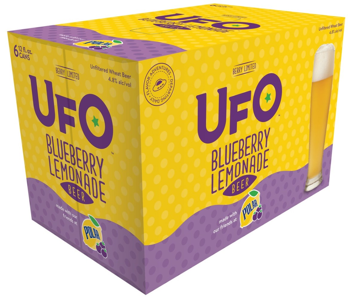 UFO Blueberry Lemonade Beer