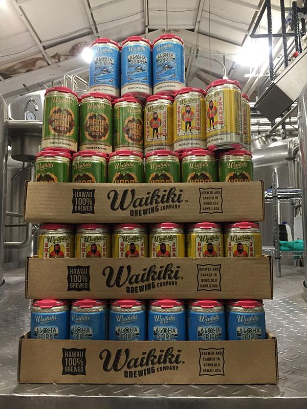 Waikiki Brewing (Cans)