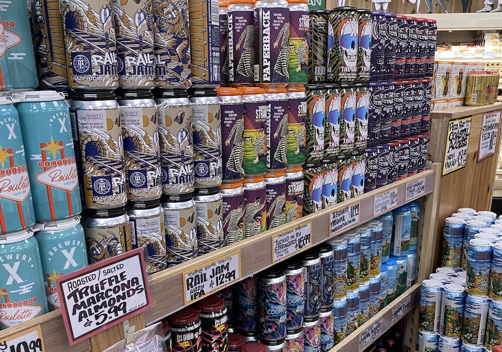 Wall of Cans The Full Pint Lew Bryson
