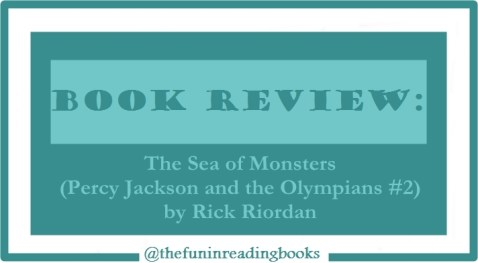 book review - percy jackson #2