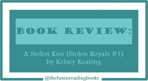 book review - a stolen kiss