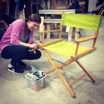 Kara Greimel, student at The Funky Little Chair