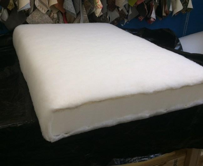 Finished cushion insert
