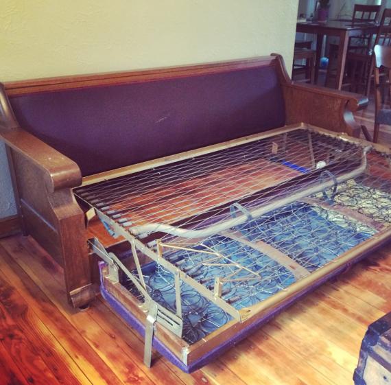 Vintage Davenport Sleeper Sofa