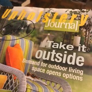 Upholstery Journal, 2007